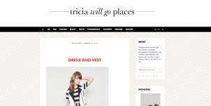 tricia will go places screenshot 302x152 International Fashion Blogs